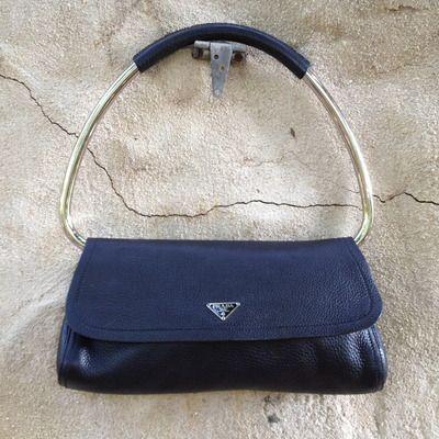 Vintage Prada Bag Purses And Handbags Tote Gore Vidal Man