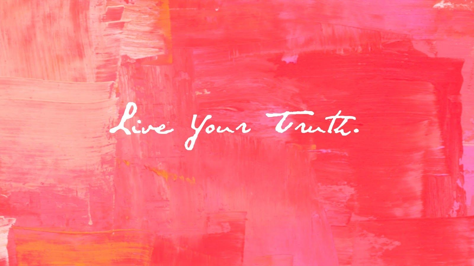 Mariah Thompson: Live Your Truth - Desktop Wallpaper ...