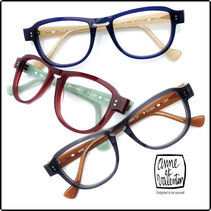 ANNE-ET-VALENTIN-FRAME-CLASH | Anne et Valentin Eyewear | Pinterest ...