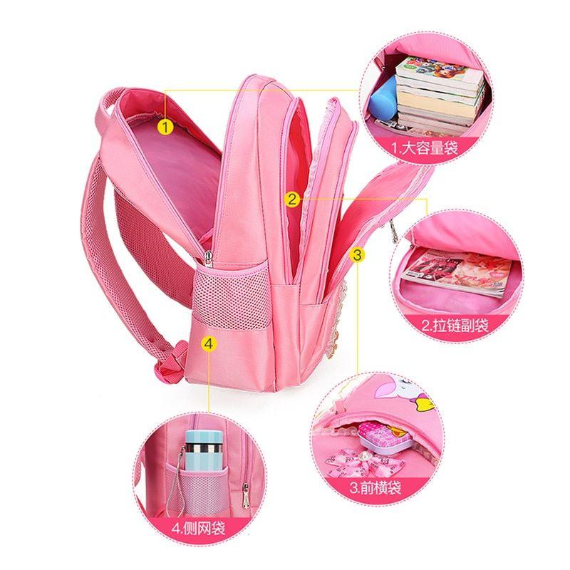 for Boy Girl School Bag Travel Backpack Lightweight Fuchs Small with Buckle Bookbag