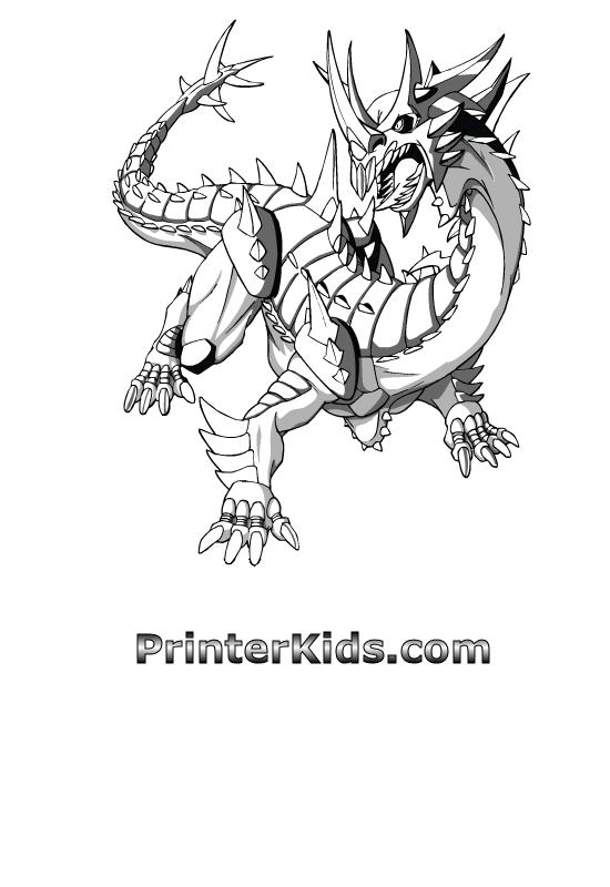 Hydranoid Bakugan Coloring Page Bakugan Pinterest Small