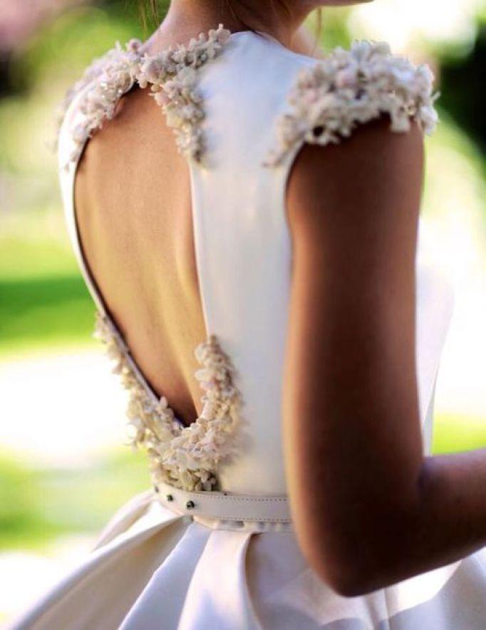 aplique+flores+cera+pistilos+novia+vintage | un gran día | vestidos