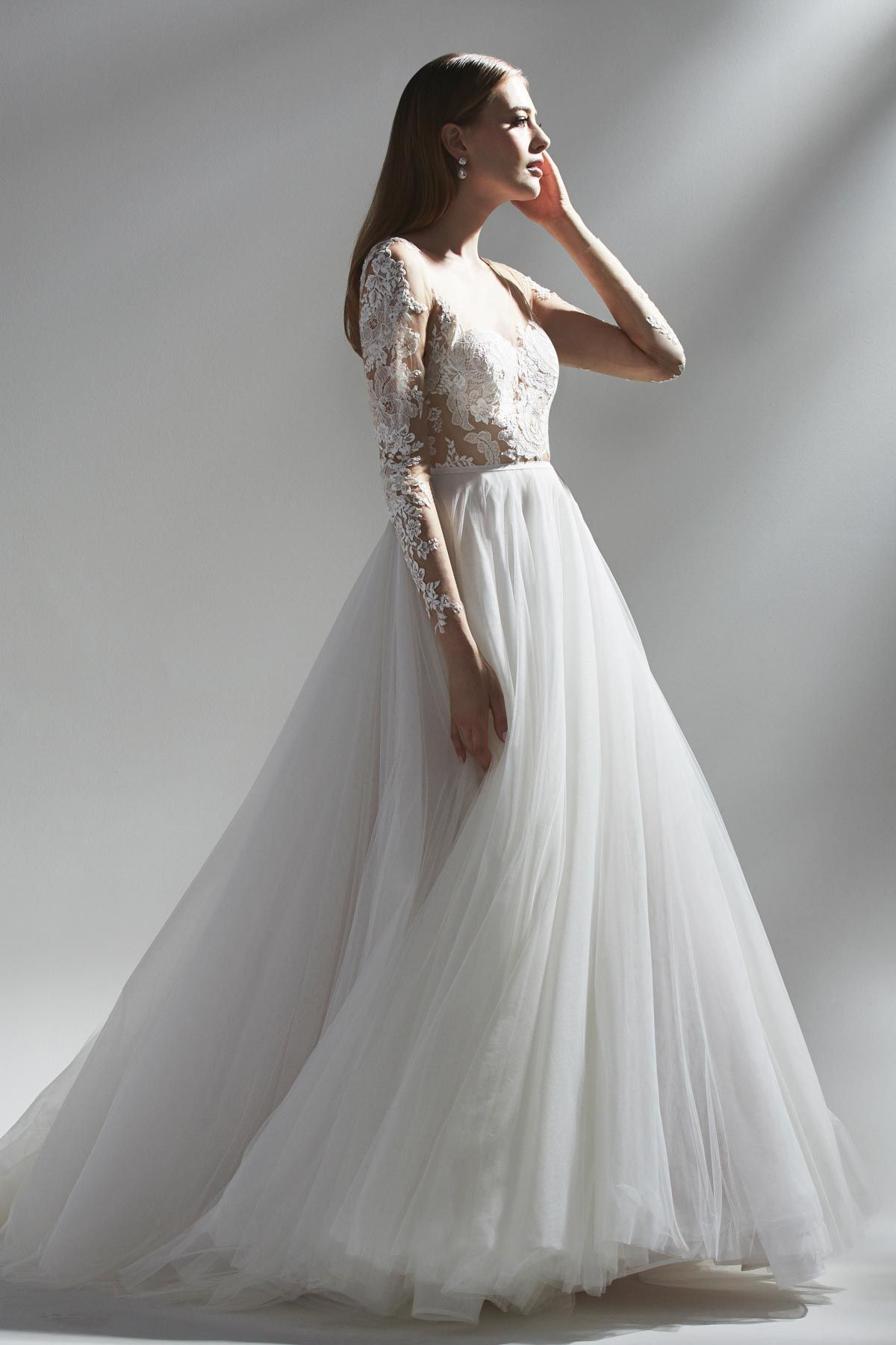 Amaya By Watters 2019 Watters Collection The Sun Was Shining On The Sea Collection Our Classic By Design Organza And Tulle Gown Is Totally Contemporary In
