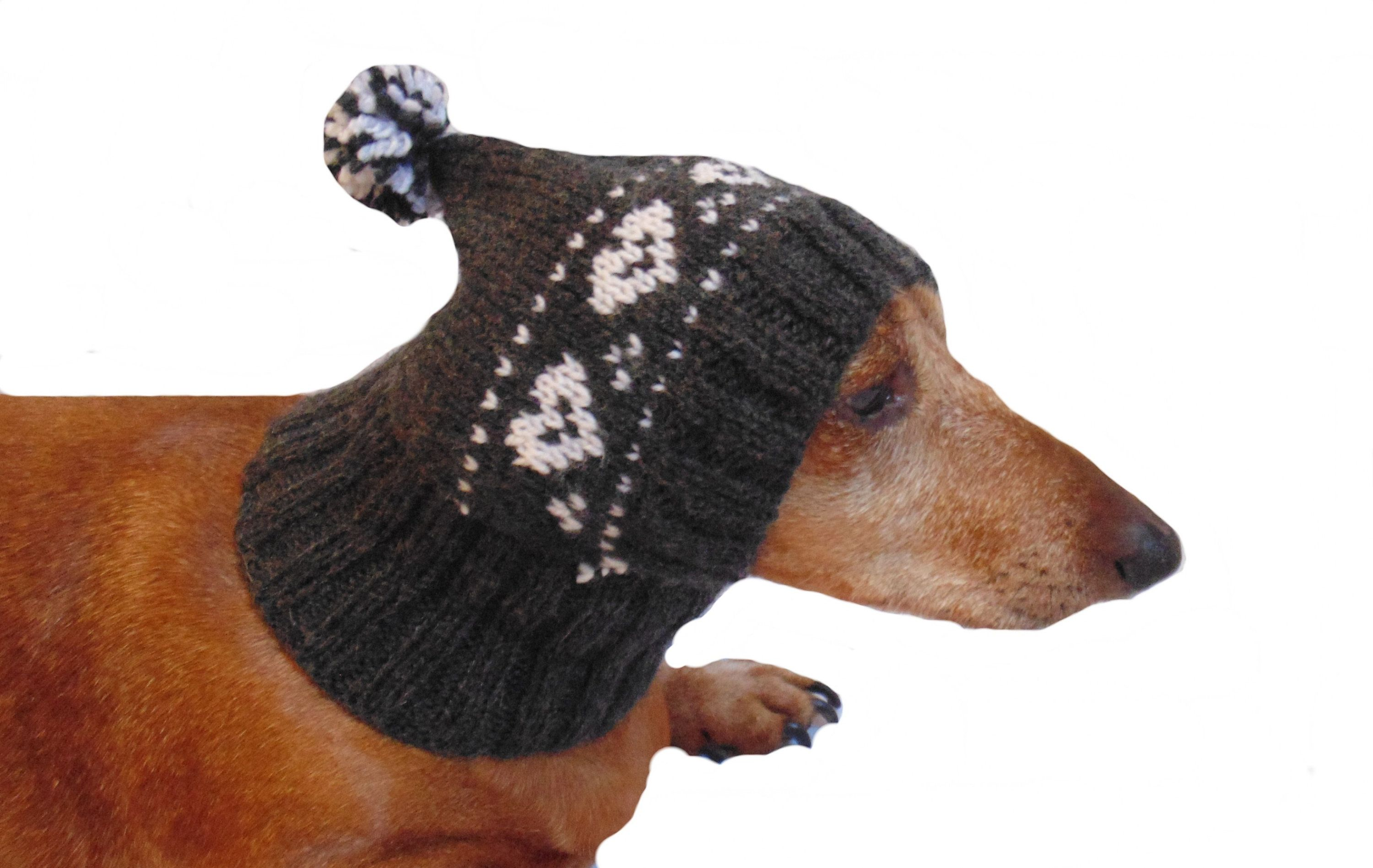Hat For Dog Open Ears Warm Hat For Dog Or Cat Hat For Etsy Dog Hat Winter Knit Hats Warm Winter Hats