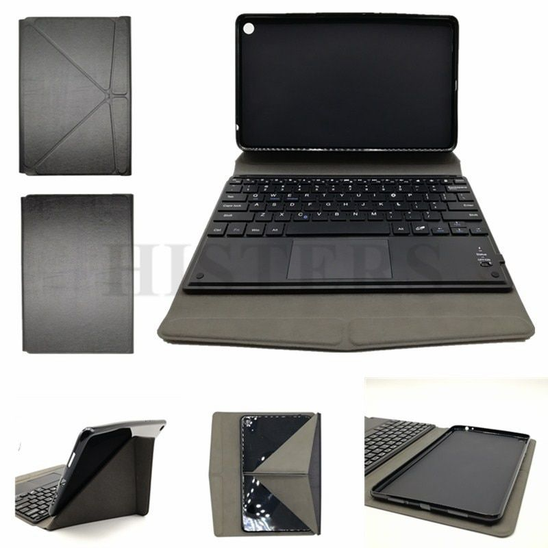Transformer Case Soft Tpu Cover For Xiaomi Mi Pad Mipad 4 Plus 10 1 Inch Tablet Bluetoooth Keyboard With Touchpad 2 Free G Keyboard With Touchpad Xiaomi Tablet