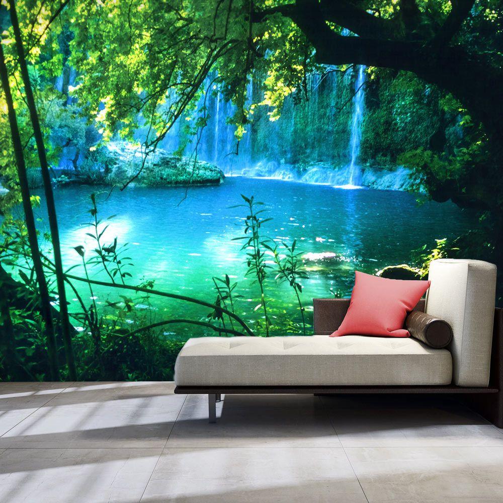 Vlies Fototapete Tapeten Xxl Bis 4m Wandbilder Wasserfall Natur See C B 0132 A A Eur 6 99 Fototapete 3d Tapete Tapete Schlafzimmer