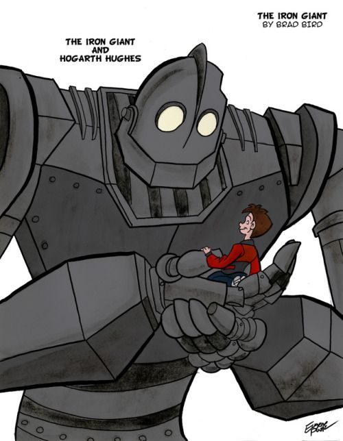 The Iron Giant And Hogarth By Billybones0704 Tumblr This Is So