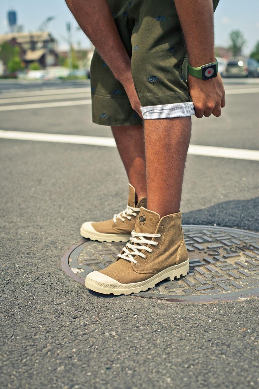 3177ca99f6 Palladium Pampa Hi Boot Butternut/Putty | Bottoms | Fashion, Mens ...