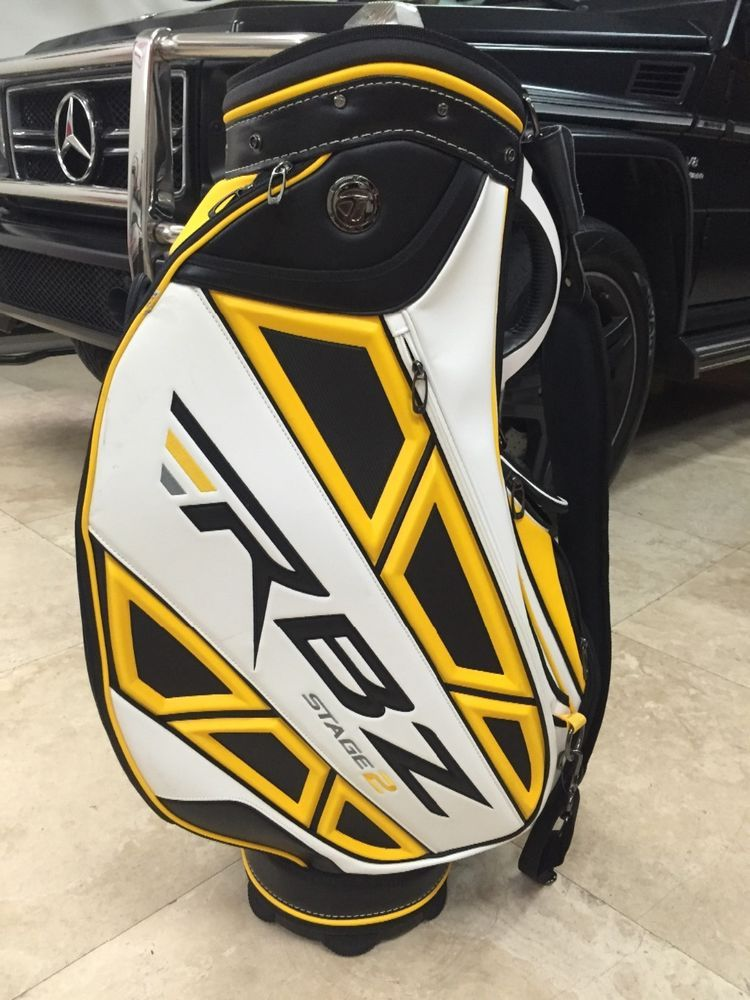 Taylormade Rbz Stage 2 Staff Bag Yellow Golf Bags Clubs