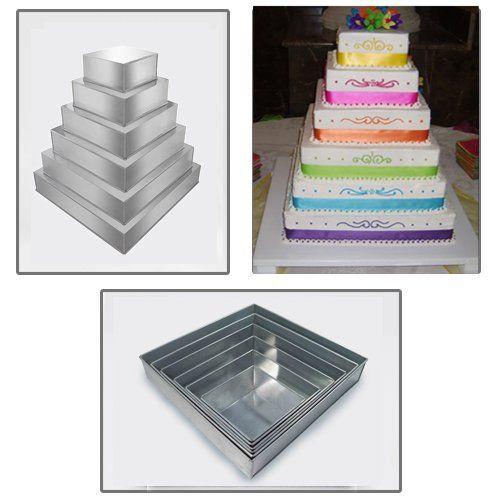 Birthday Cake Baking Tins