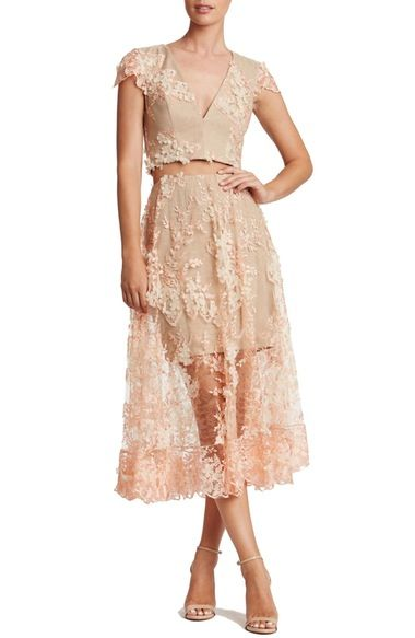 202a72a720e Dress the Population Juliana Two-Piece Dress available at  Nordstrom ...