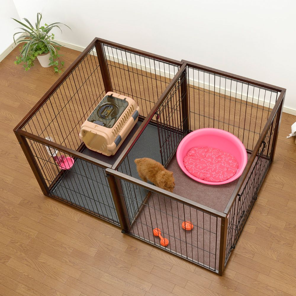 Flip To Play Dog Crates Dog Playpen Dog Rooms Dog Crate