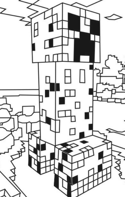 Minecraft Malvorlagen Kostenlos Creeper Ausmalbilder 1079 Malvorlage Minecraft A Creeper Minecraft Minecraft Minecraft Coloring Pages