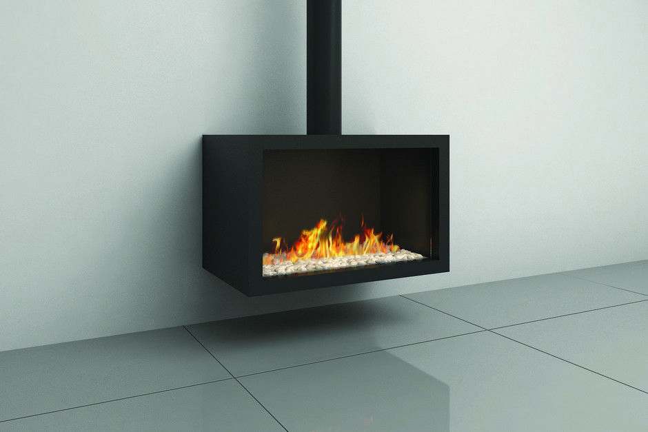 Wall Mounted Direct Vent Fireplace Available In Natural Gas Or