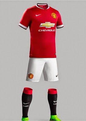 Nueva Camiseta del Manchester United Primera 2014-2015 temporada ... c6e5ab6af35