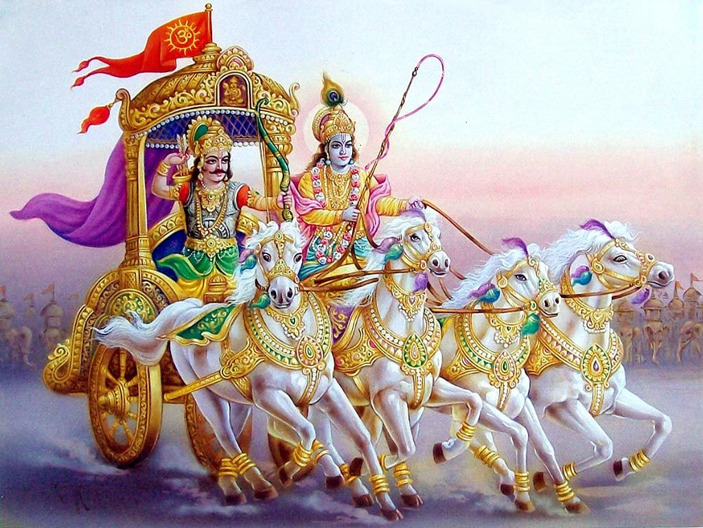 Free Wallpapers Wid Quotes Krishna Arjun Wallpapers And Photos Wallpaper Downloads