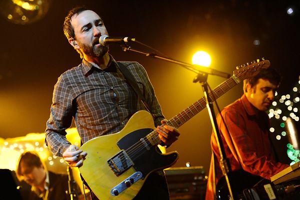 James Mercer of Broken Bells performs in Universal City, California.