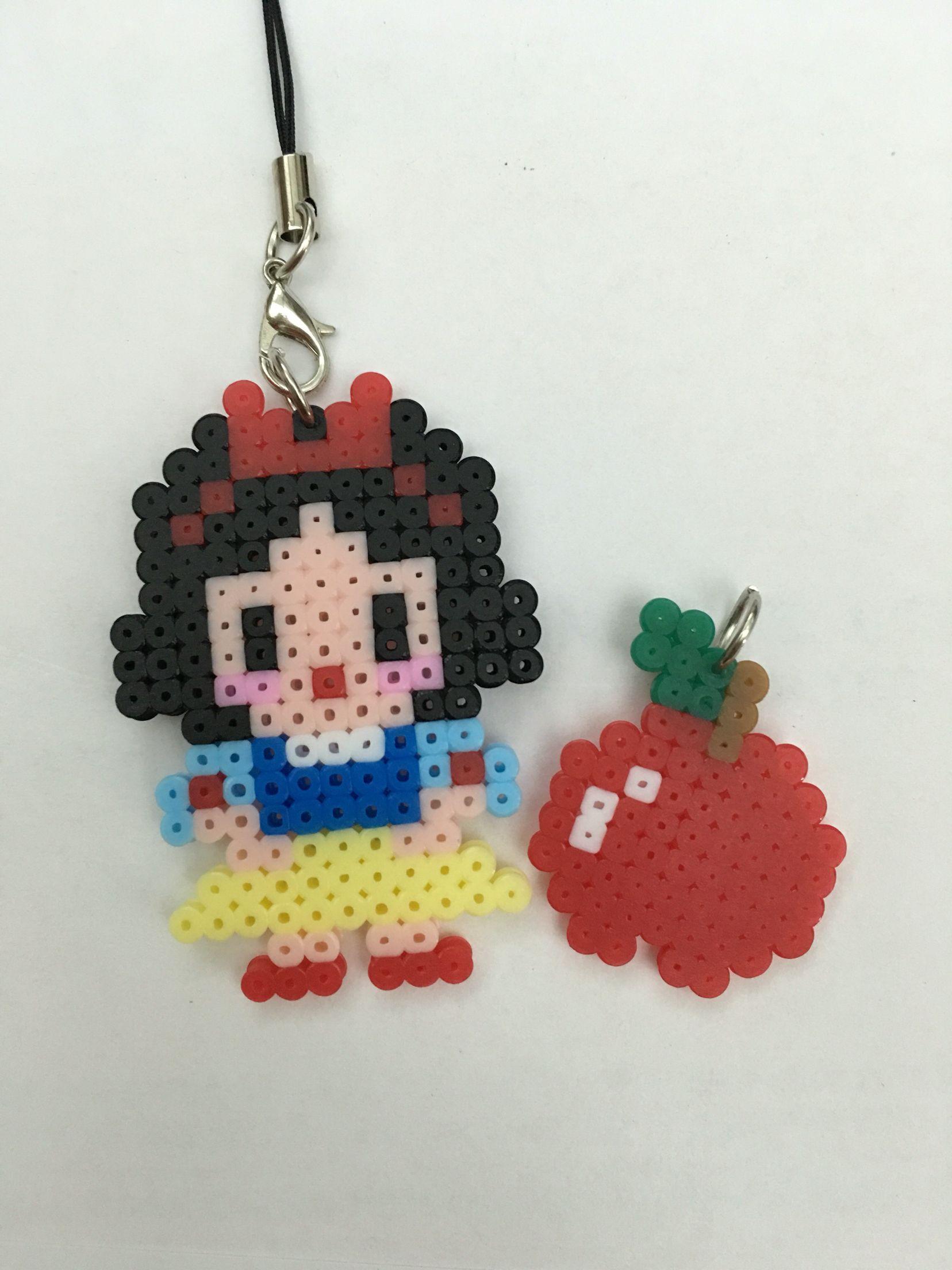 Hama Beads Disney Princess Snow White Hama Beads Plantillas Hama Beads Llaveros Hama Beads