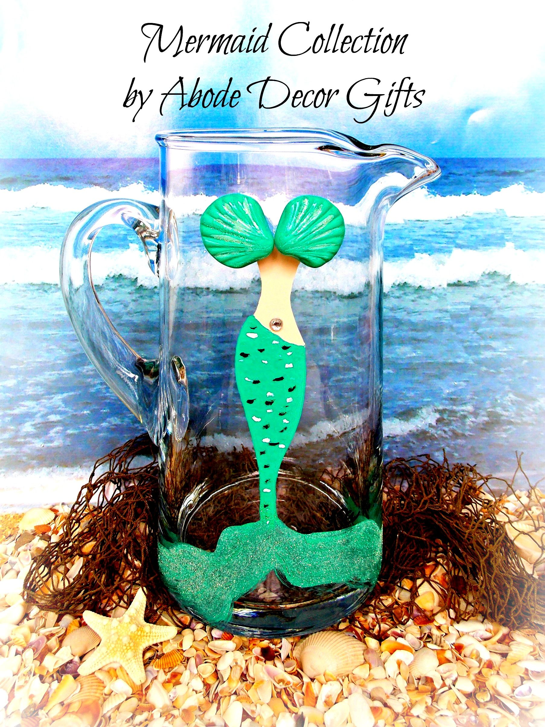 Mermaid Margarita Pitcher | Mermaid Must Haves | Pinterest | Margaritas
