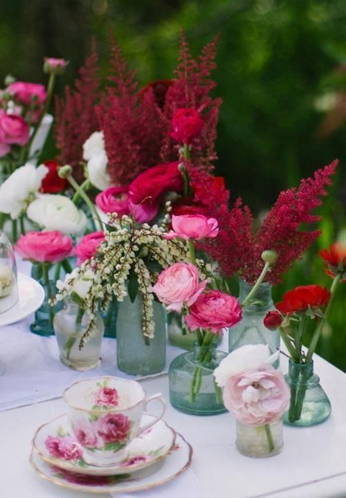 Wedding I Love This Pink And Red Stuff It S A Whole Nother Side Of Purple