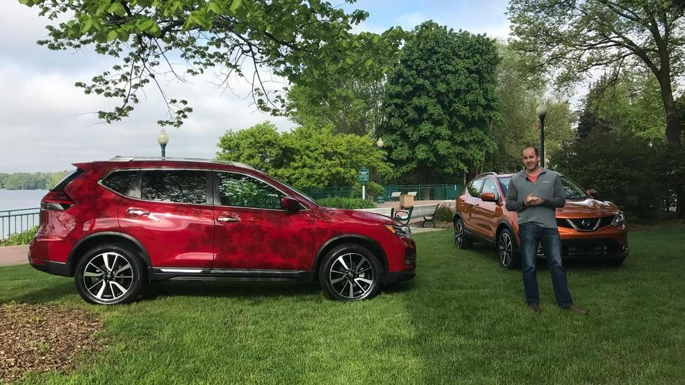 Nissan Rogue vs. Rogue Sport +> They look similar. Their