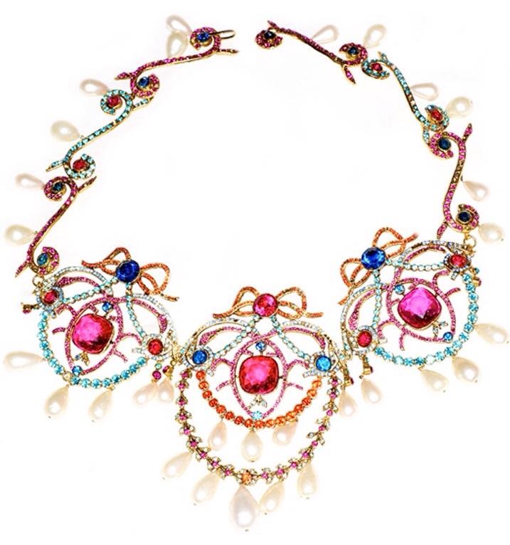 Photo of {Vintage Love Jewelry} Vintage Chanel Haute Couture Necklace – {Vintage M …