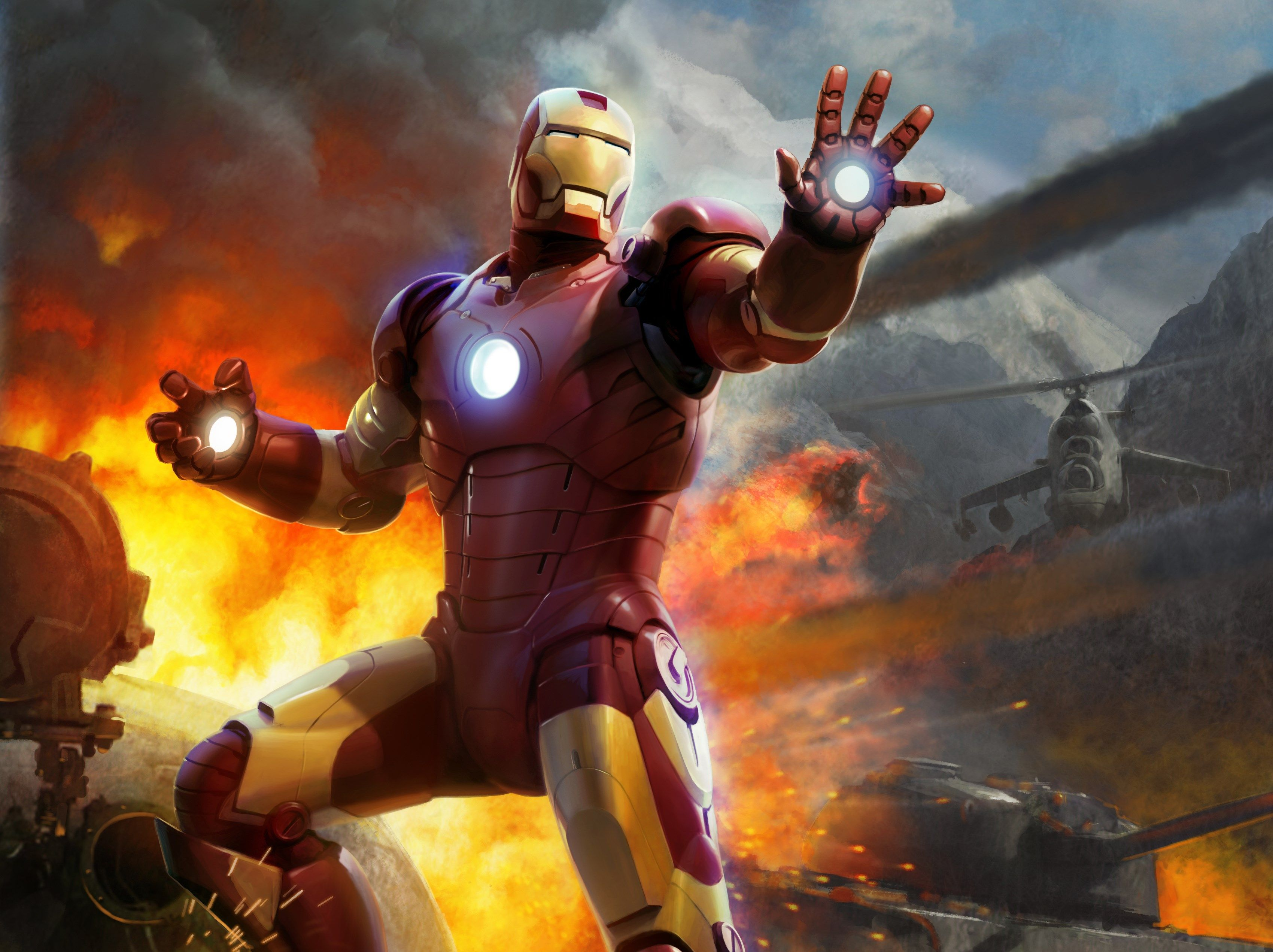 Free High Resolution Wallpaper Iron Man