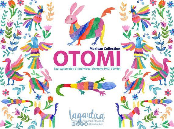 Flores Mexicanas Folklorico Otomi Artesanias Alebrijes Bordado