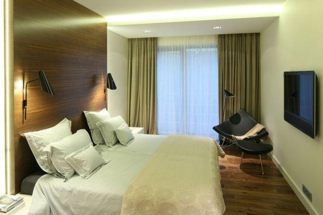kleines-schlafzimmer abgehängte decke indirekte beleuchtung ...