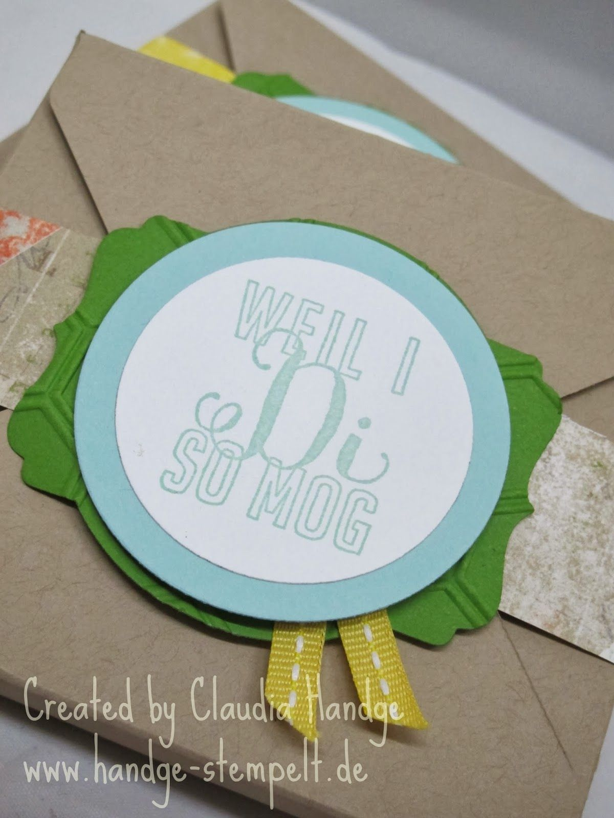 Valentine's Day project featuring Stampin' Up! products #StampinUp