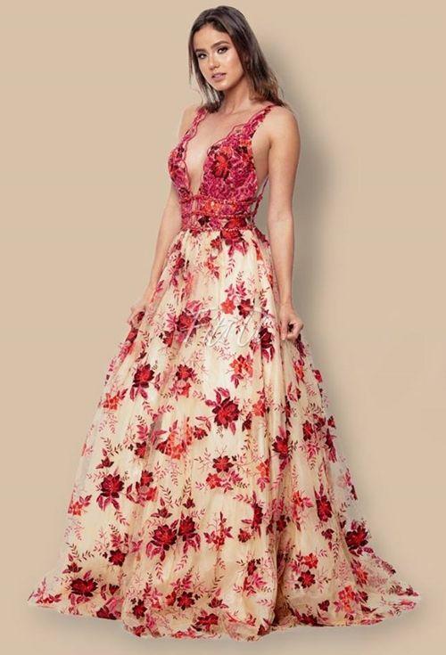 Vestido casamento longo 2018