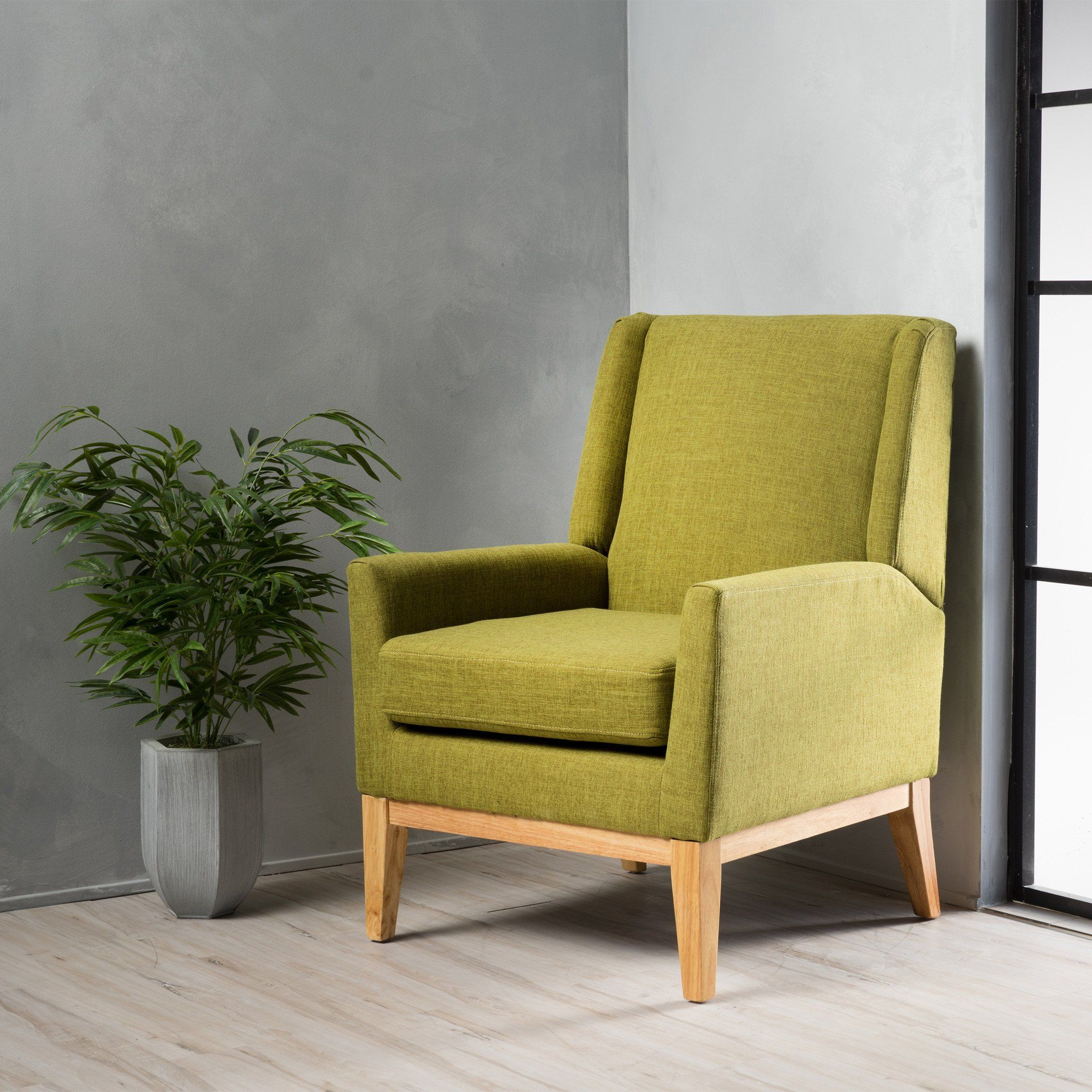 Terrific Kronen Mid Century Design Fabric Accent Chair In 2019 Pabps2019 Chair Design Images Pabps2019Com
