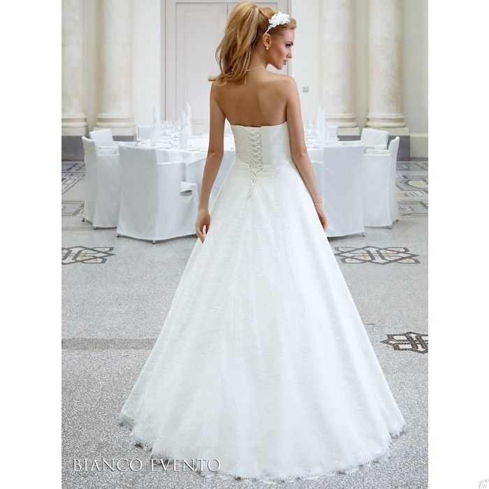 Populair Lange #ivoren #trouwjurk #bruidsjurk @WomenWantsNL | #Trouwjurken  FE74