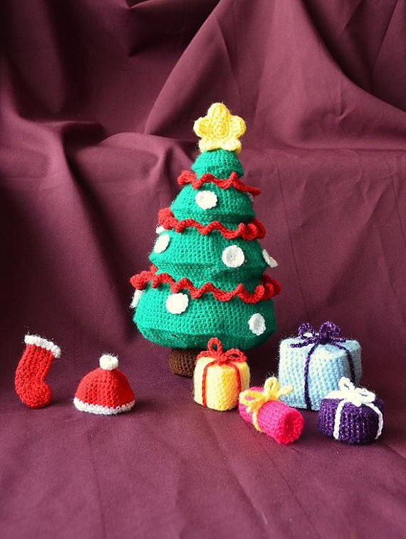 crochet christmas play set