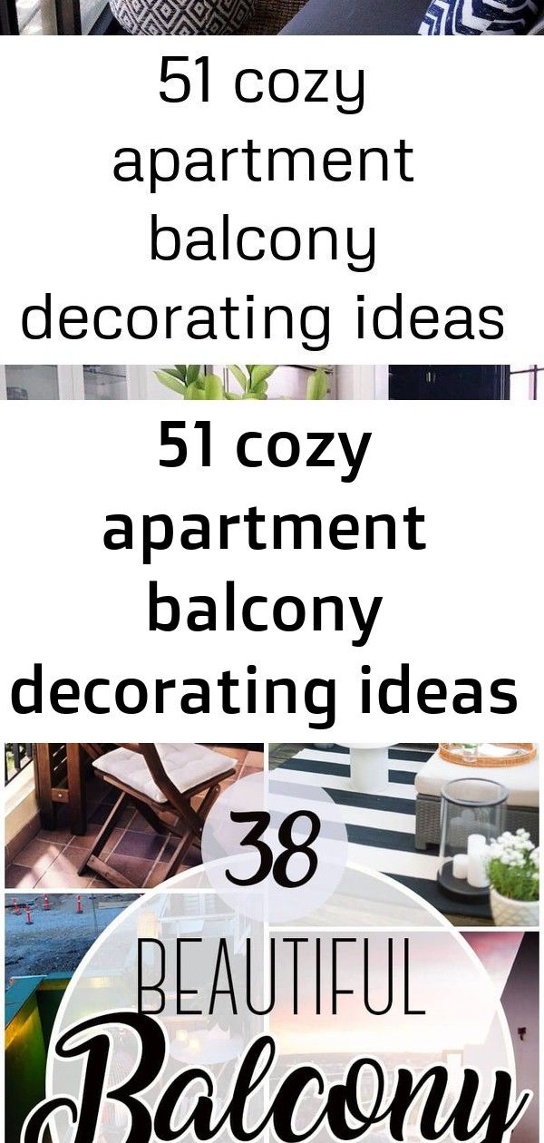 51 cozy apartment balcony decorating ideas 2 1 Balcony