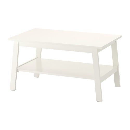 Lunnarp Table Basse Blanc 35 3 8x21 5 8 90x55 Cm With