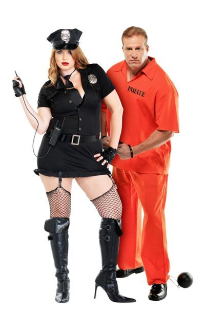 9f070879fd2 Plus Size Dirty Cop and Plus Size Inmate Convict Prisoner Couples ...