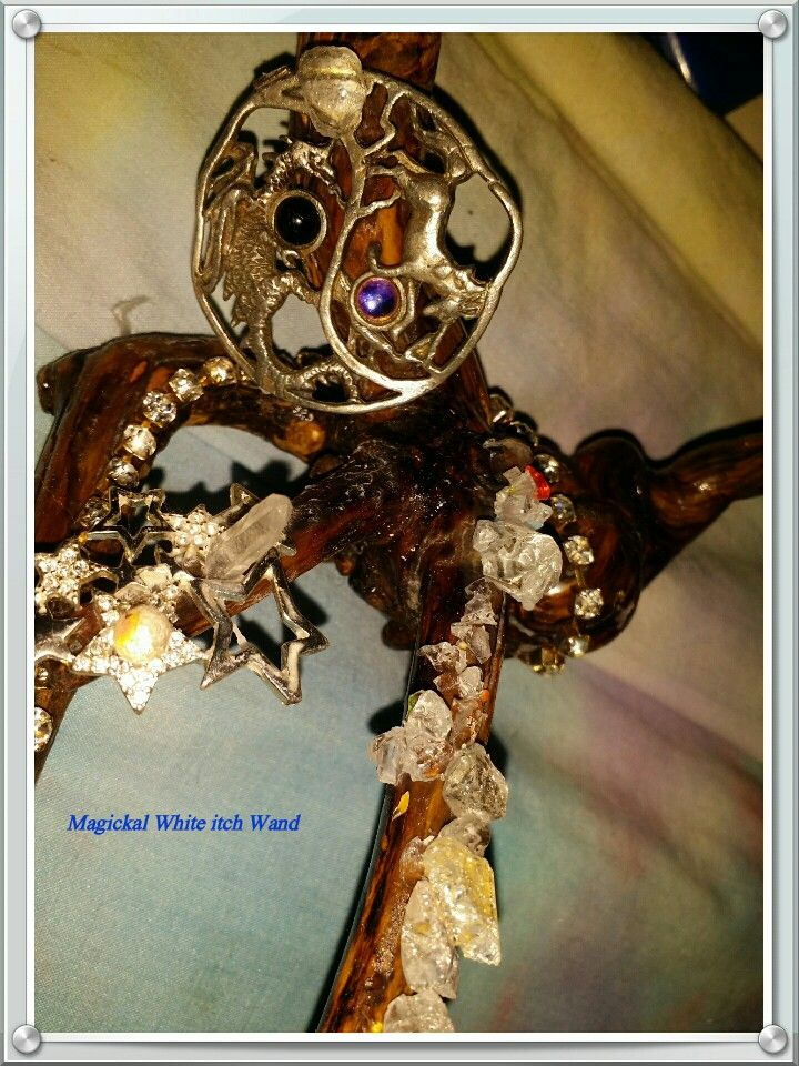 White witch wand detail pic the white witch collection thebroomclosetmoonnstarrs@gmail.com