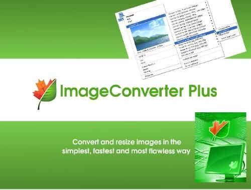 تحميل برنامج Image Converter Plus لتحويل صيغ الصور Resize Image Image Converter