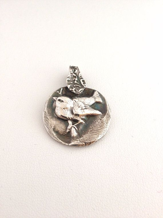 Fine silver sparrow pendant recycled sterling silver bird wren fine silver sparrow pendant recycled sterling silver bird wren nature woodland wildlife bird watcher spring forest creature aloadofball Images