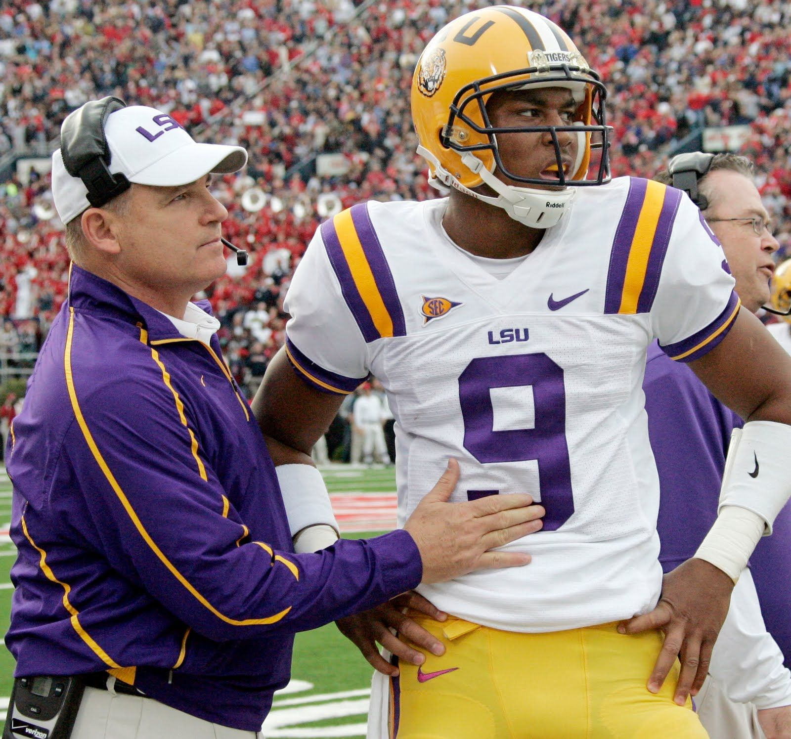 Tobacco Road Rivalries Les Miles A True Cry Baby Les