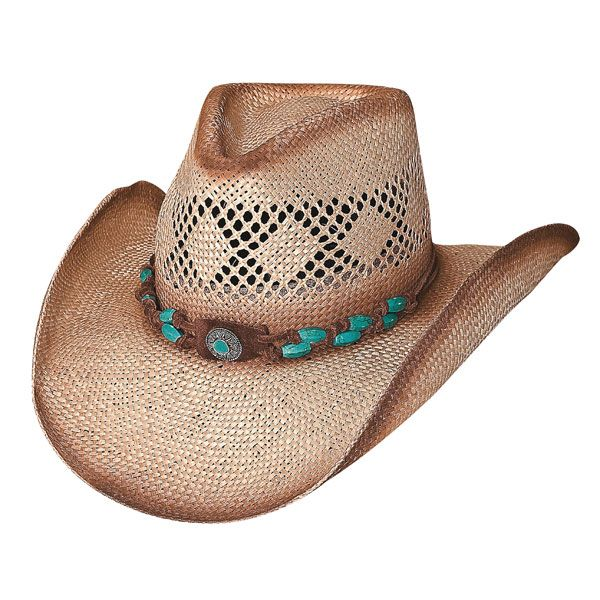 e249c5191 Bullhide Terri Clark You Are Easy On The Eyes Shapeable Straw Cowboy ...