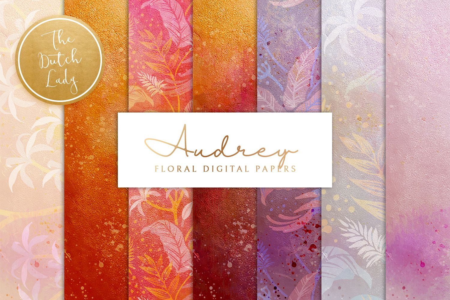 Download Floral Backgrounds & Paper Designs - Audrey today! We have a huge range of Pattern products available. Commercial License Included.