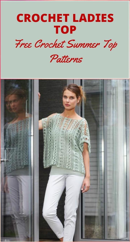 50+ Quick & Easy Crochet Summer Tops - Free Patterns | Crochet ...