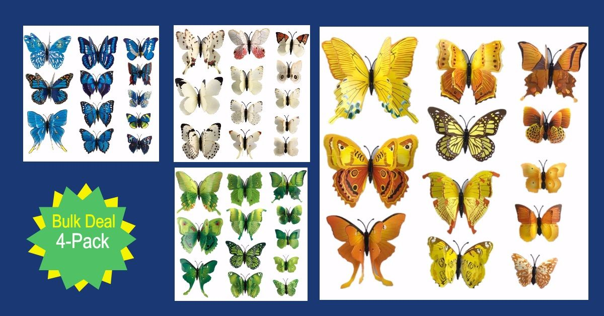 3f3a943de0c65 New Butterfly Collection! Butterflies are a PERFECT reminder of the BEAUTY  in the world. Some say if you whisper