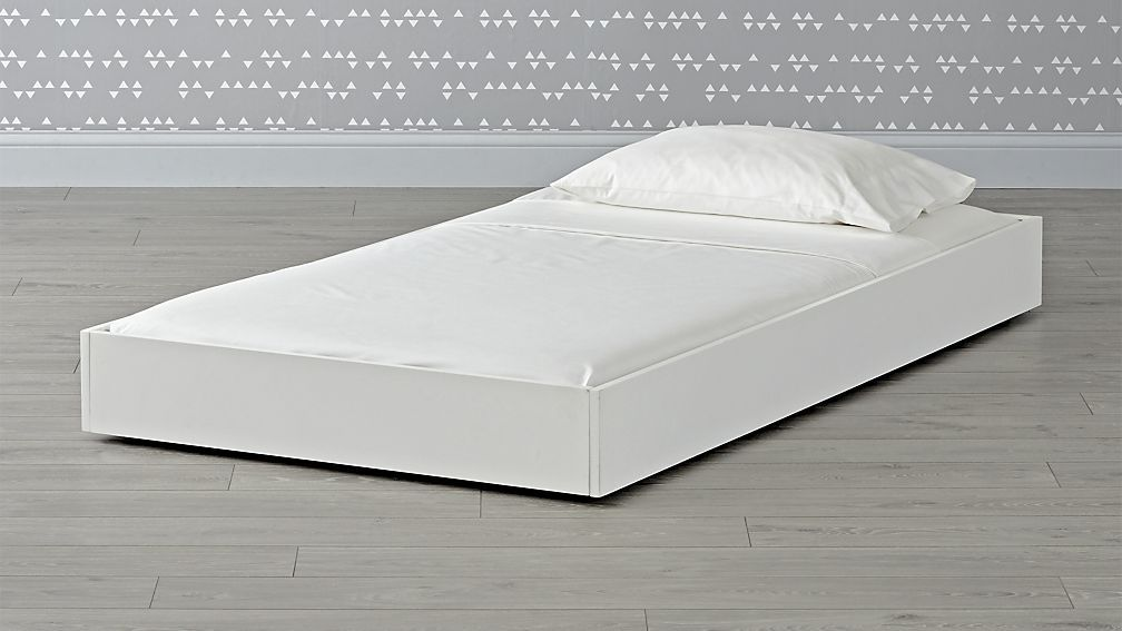 Crate And Barrel White Trundle Bed, White Trundle Bed Queen