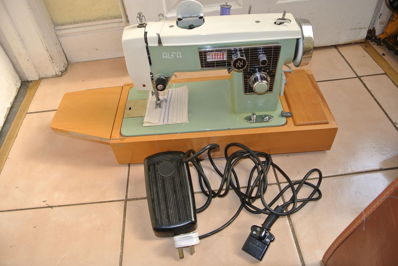 Alfa Zig Zag Straight Sewing Machine Sewing Machines Pinterest