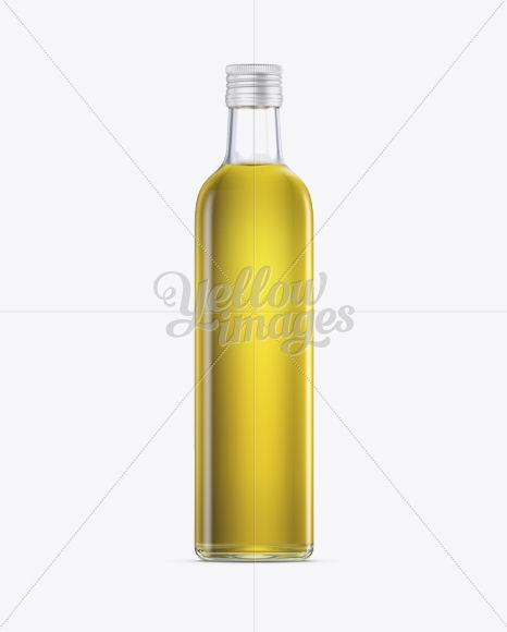 Download 0 75l Clear Glass Olive Oil Bottle Mockup In Bottle Mockups On Yellow Images Object Mockups Bottle Mockup Olive Oil Bottles Oil Bottle PSD Mockup Templates