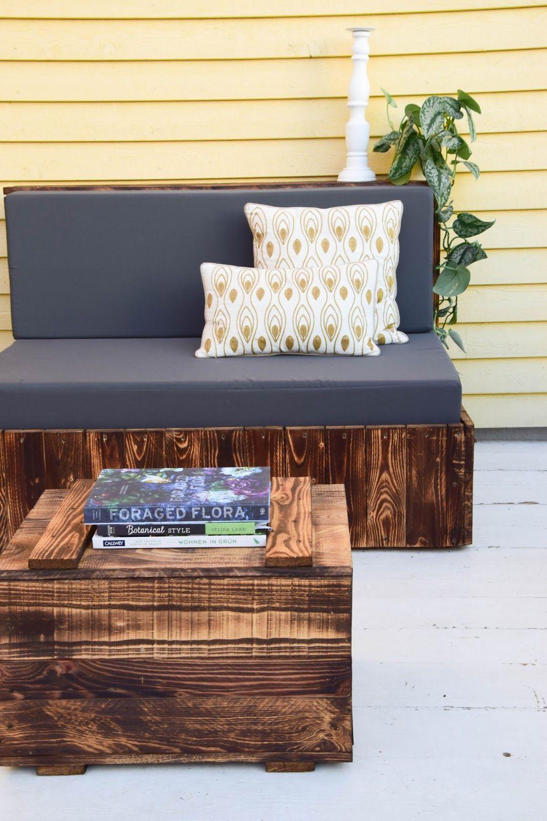 diy paletten sitzm bel f r terrasse dekoidee palettenm bel gestaltung deko garten paletten. Black Bedroom Furniture Sets. Home Design Ideas