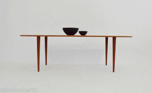 60er Peter Hvidt Teak Couchtisch France Son Danish Modern 60s Sofa